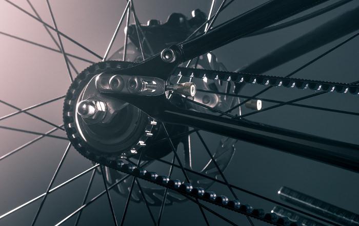 The BLACKLINE pignon vélo bike design
