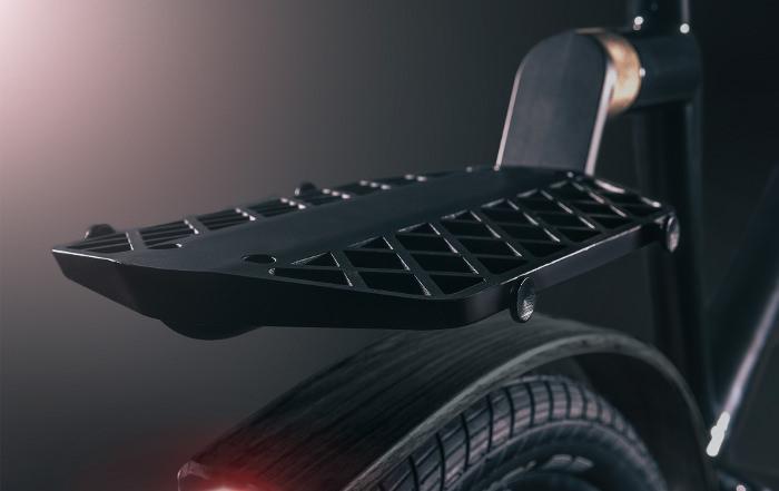 The BLACKLINE porte bagage vélo bike design noir