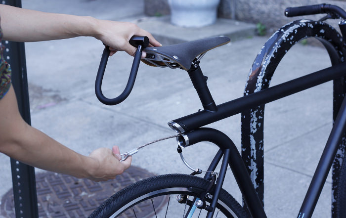 vélo bike design MERGE système antivol verrou