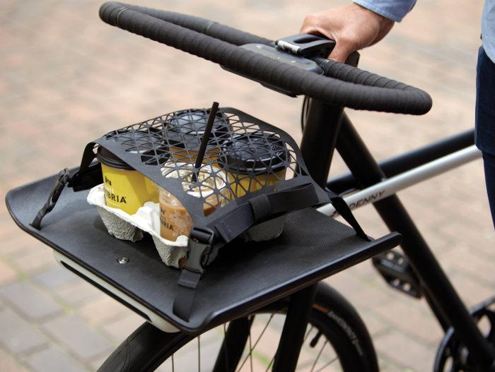 Denny  transport vélo plateau design