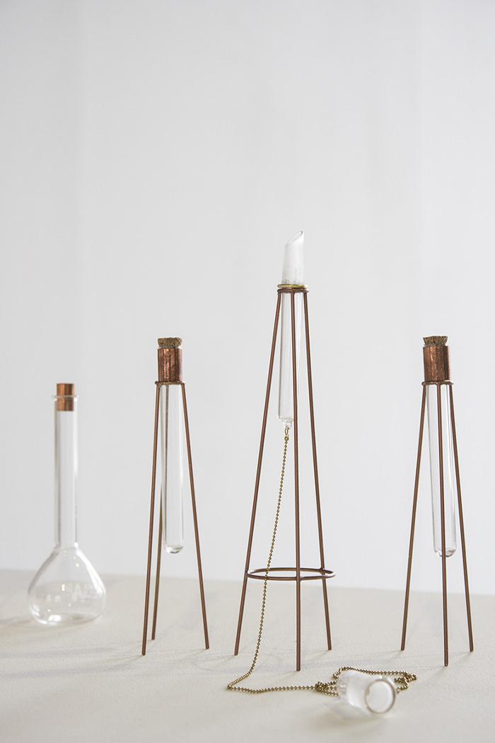 Anais Borie projet design bougie candle