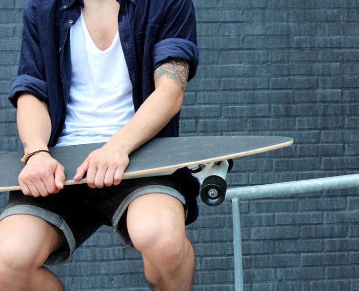Chargeboard le skate hightech par Bjorn van den Hout
