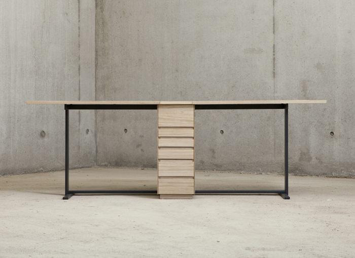 Double bureau Le Suisse par Giulio Parini