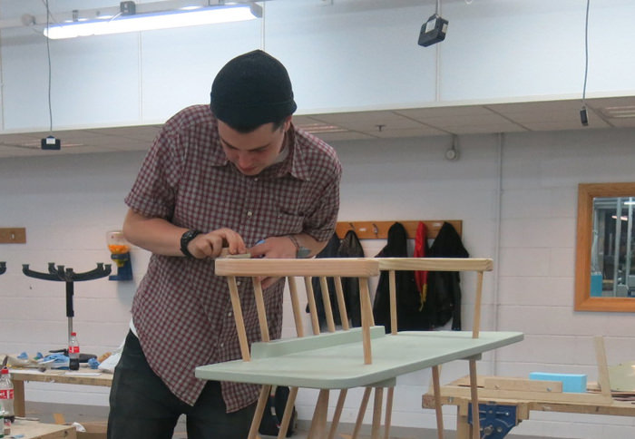 designer Lewis Nelson atelier