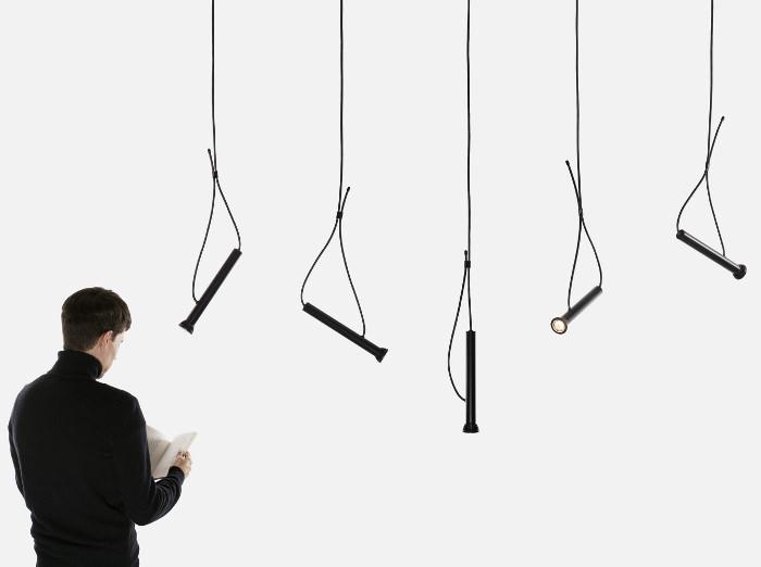 Lampe suspendue LASSO par Quentin de Coster