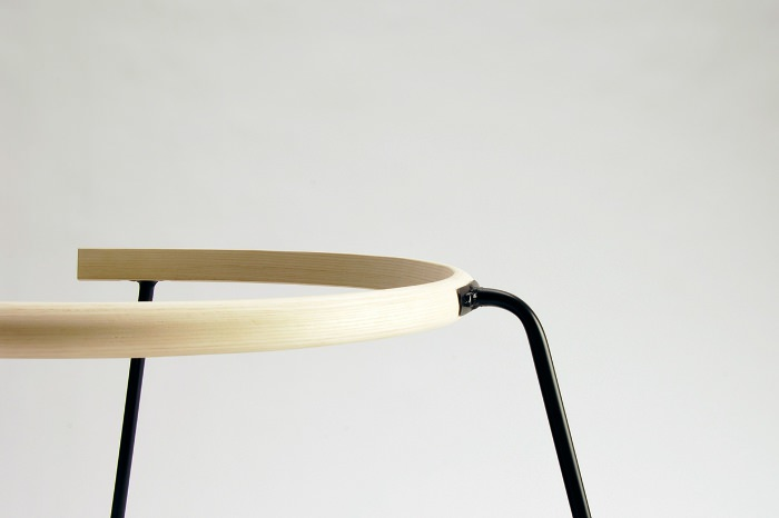 NOBU chaise à bascule design danois par Rasmus Warberg