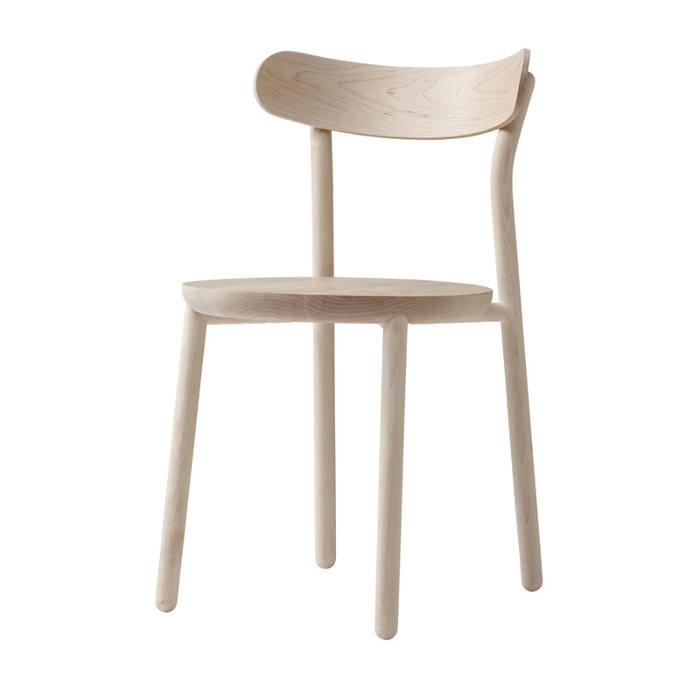 Them Chair la chaise en bois par Nicholas Karlovasitis et Sarah Gibson