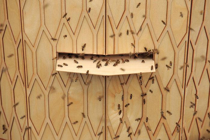 Vulkan Beehive les ruches urbaines par Snohetta