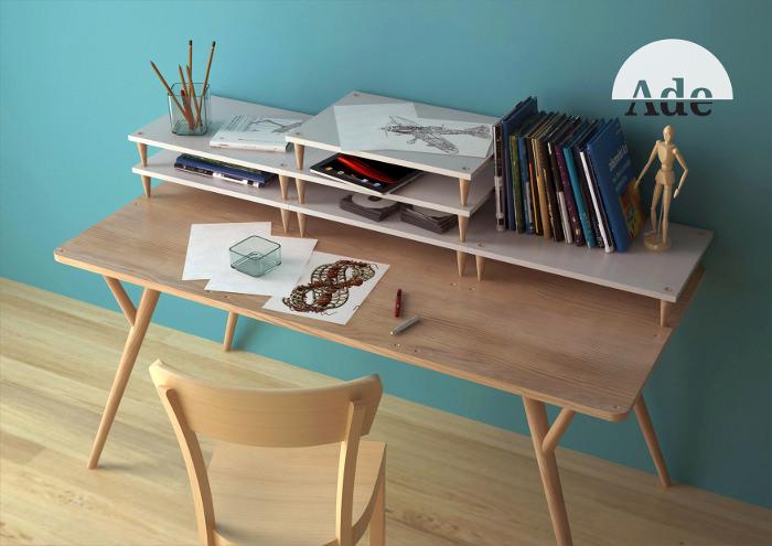 Le bureau à niveaux ADE par Manrico Freda
