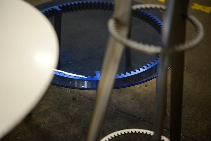 Coup de coeur PDW 2014 : Tables engrenage GEARS par Amaury Poudray