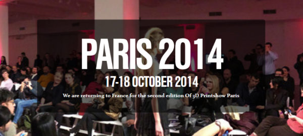 3D PrintShow seconde édition à Paris