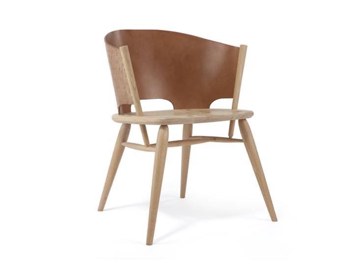hamylin chair la chaise de cuir par gareth neal - Chaise En Cuir