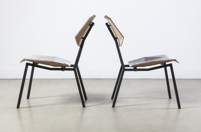 New Hybrids la chaise en papier NewspaperWood par Mieke Meijer