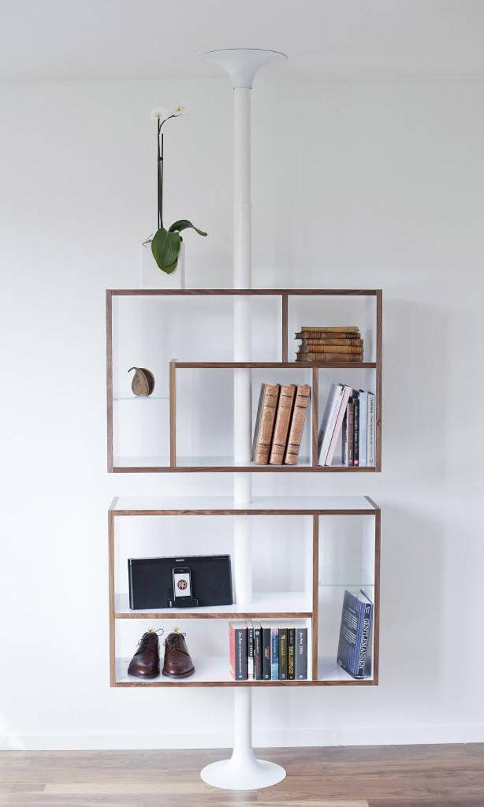 Contract Furniture, Le système de rangement par Resize design (Stockholm)