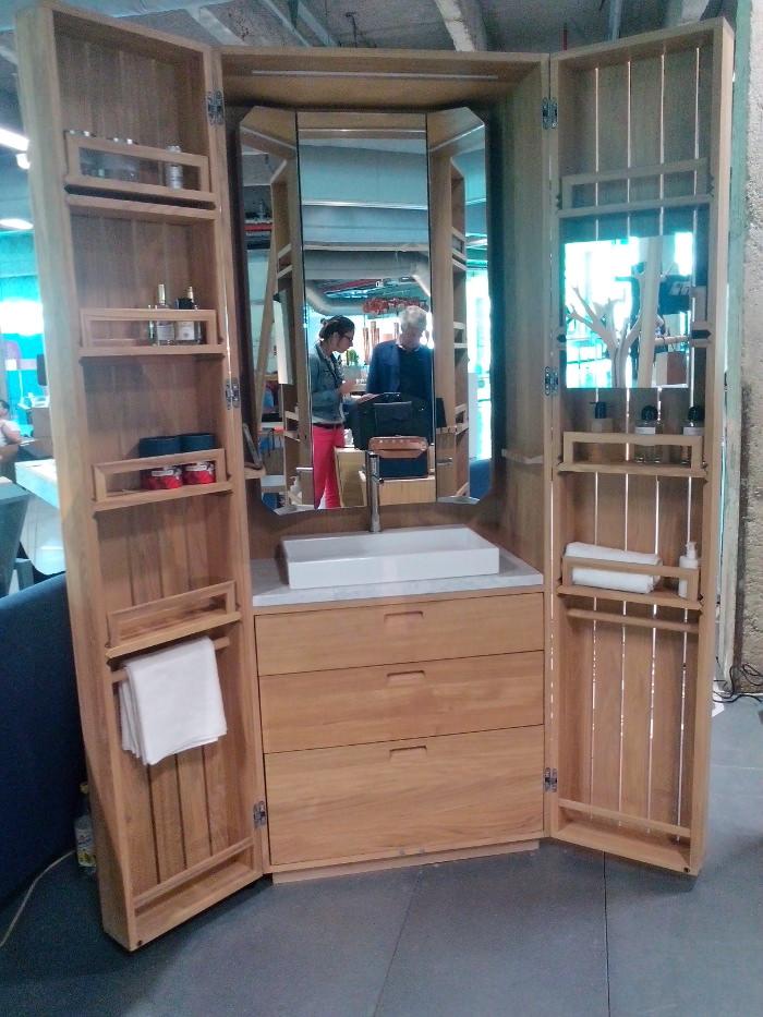 Le cabinet de toilette par Piks design pour La-fonction.com , un concentré de savoir-faire et d'art de vivre..