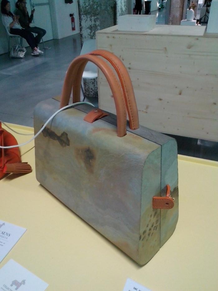 CIaego, le sac à main en pierre par Julie ZAFIRO, du collectif Pinata.