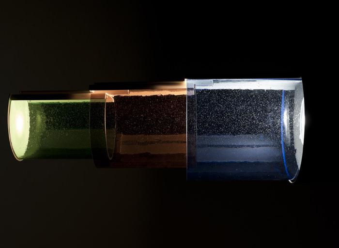 suspension lightscape par le studio dossofiorito. Black Bedroom Furniture Sets. Home Design Ideas