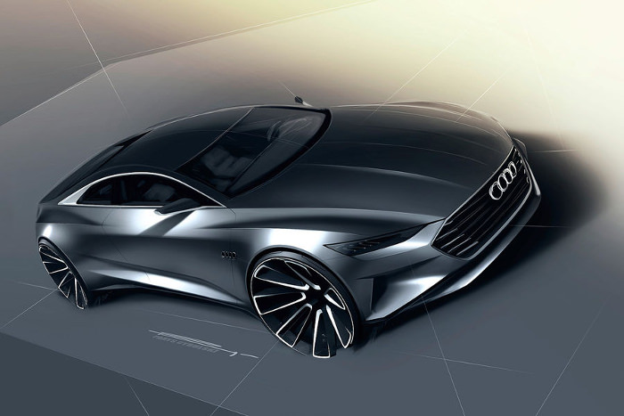 Concept car Prologue le futur de la marque Audi