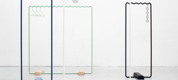 SINE collection les portants par Erik Olovsson et Kyuhyung Cho