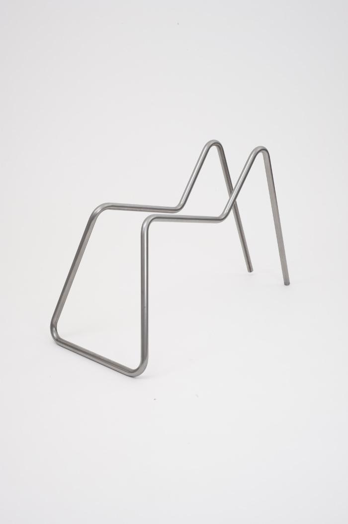 Steel Tube Bending la chaise tube par Thomas Feichtner