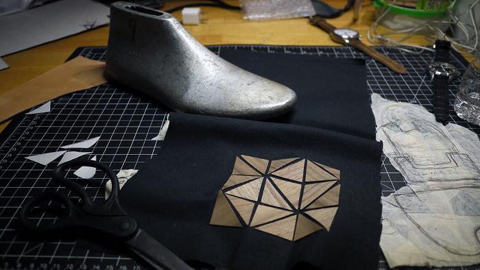 Walnut Metrics les baskets origami par Emmanuel Carrillo
