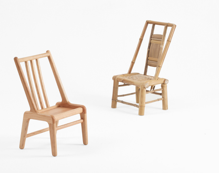Wooden Bamboo Chair la tradition chinoise par le studio MZGF