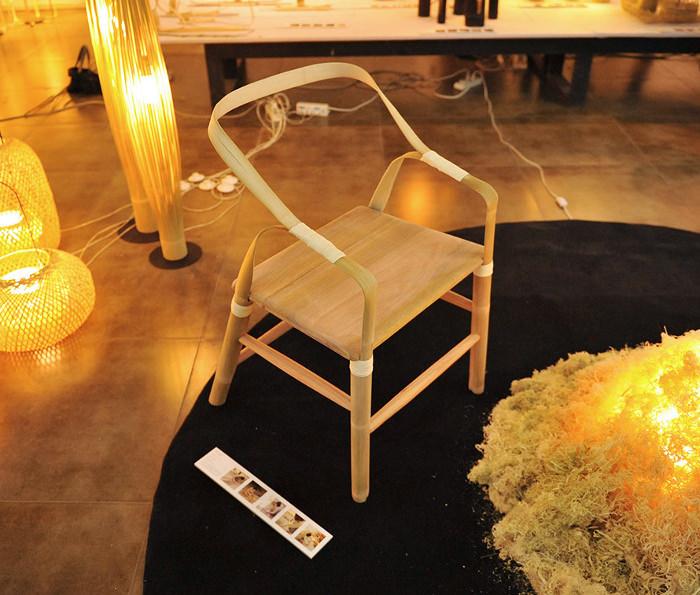 Artisanat traditionnel chinois la Bamboo chair par Xiaotong WANG