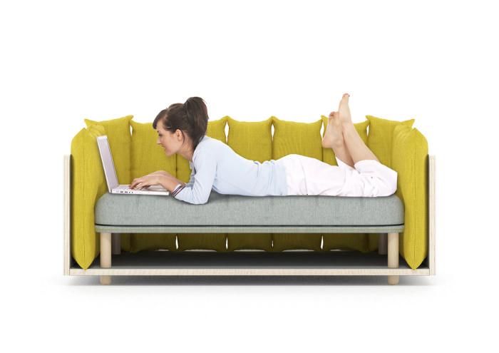 Cinto le sofa modulable par Davide Anzalone