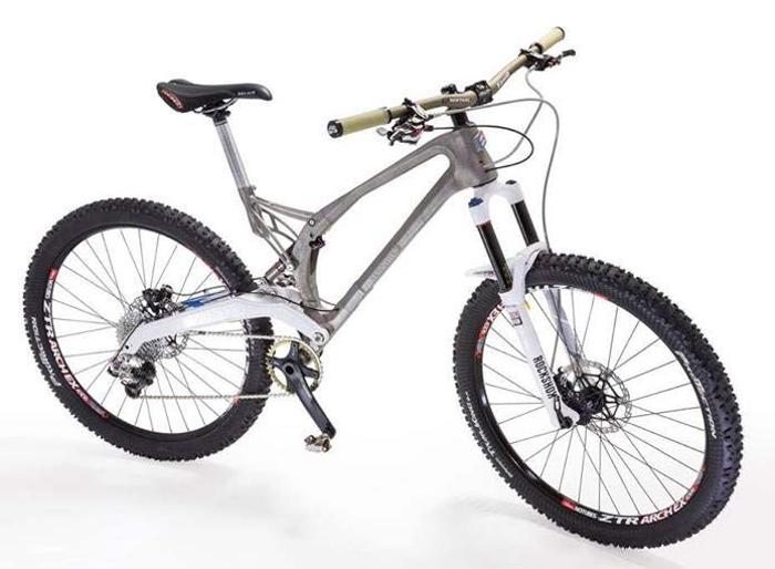 De l'impression 3D au vélo - Projet Mx6 d'Empire Cycle par Renishaw