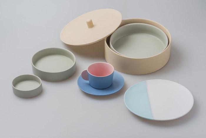 Gathering Series couleurs pour table par Chiandchi Studio