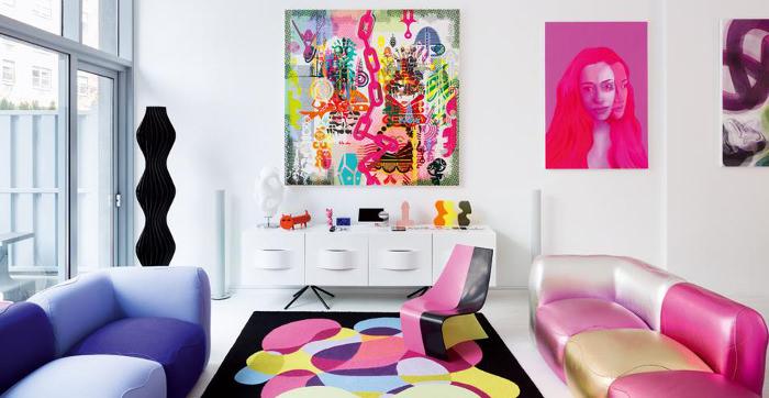 Le loft du designer - Interview : Karim Rashid pop designer