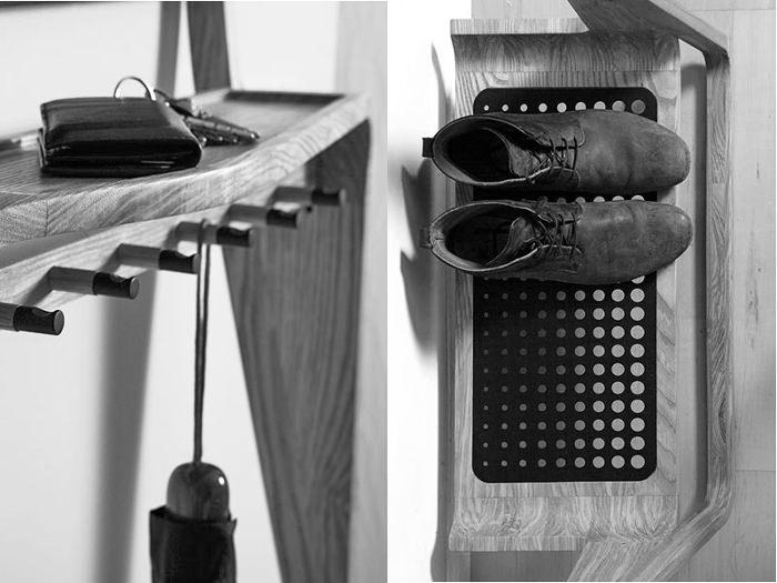 Leaning Loop console multifonction par Jason van der Burg