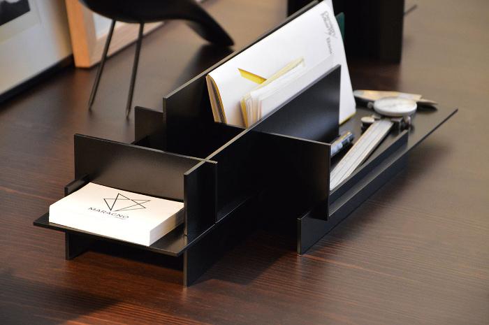 MSDO Mircro architecture steel desk organizer