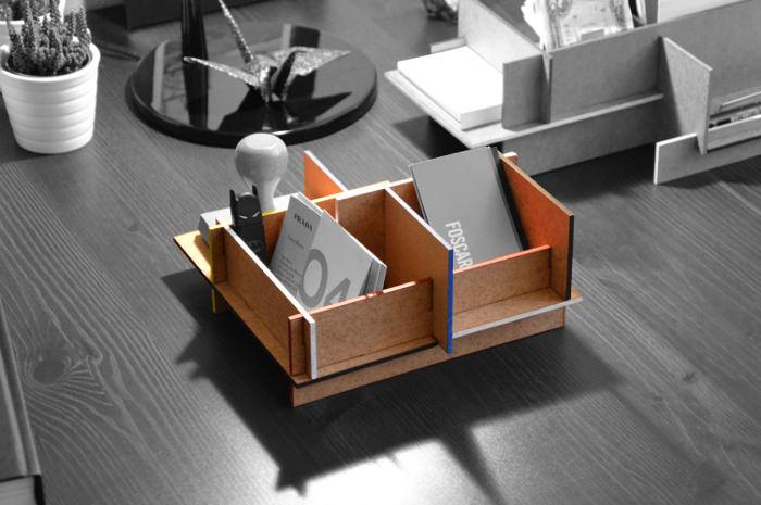MWDO rangement pour bureau par Jean-Charles Kien