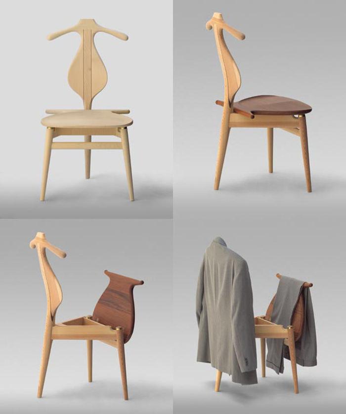 pp 250 valet chair par hans wegner blog esprit design. Black Bedroom Furniture Sets. Home Design Ideas