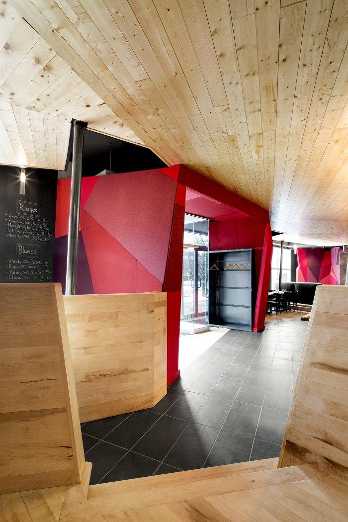 Restaurant Canada : Chez Carl par le studio Jean De Lessard