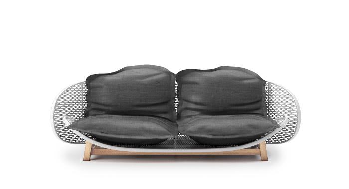 Le sofa OUFS par Alexandre Boucher