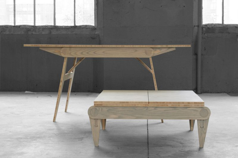 Table haute et table basse fr d ric cadet blog esprit design - Table basse et haute ...