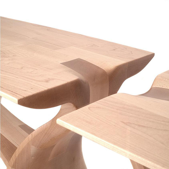 The Maple Entry Table par Chance Coalter