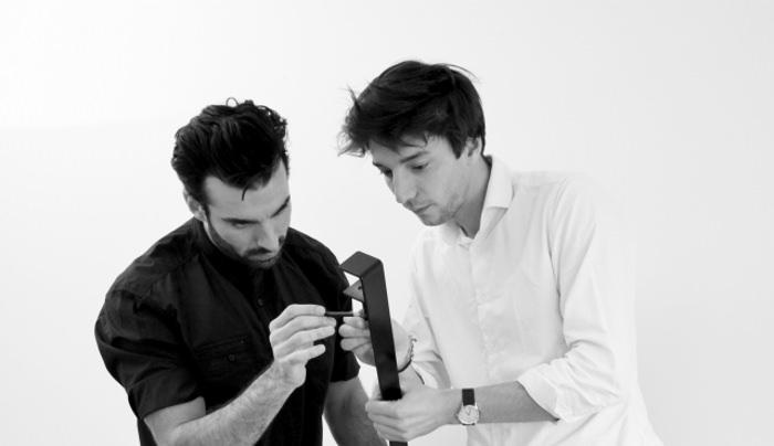 Designers Kevin Torrini et Matthieu Bourgeaux