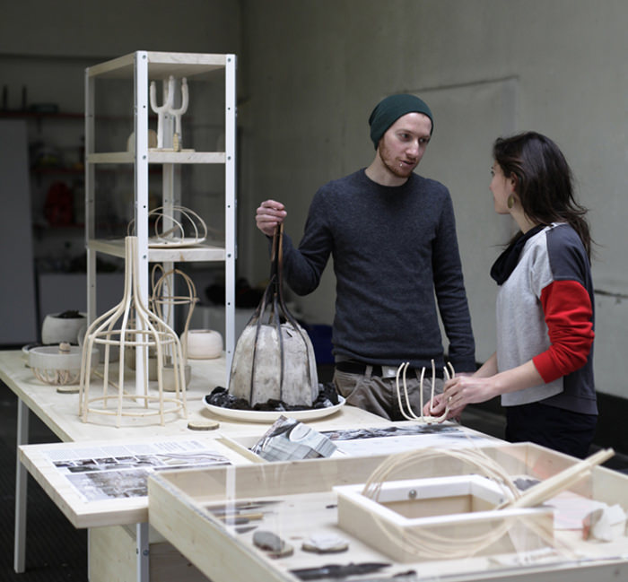 Designers Alberto Fabbian et Paola Amabile