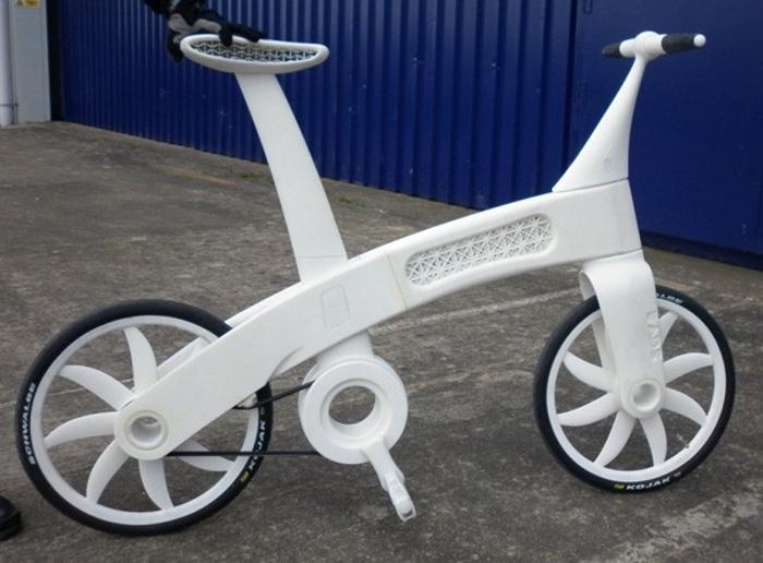 De l'impression 3D au vélo - Projet Airbike par le laboratoire EADS