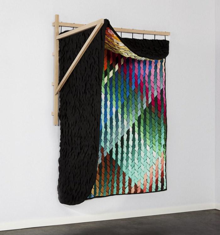 cloison textile Frondesco (Statue) sur VIA Design France 2013