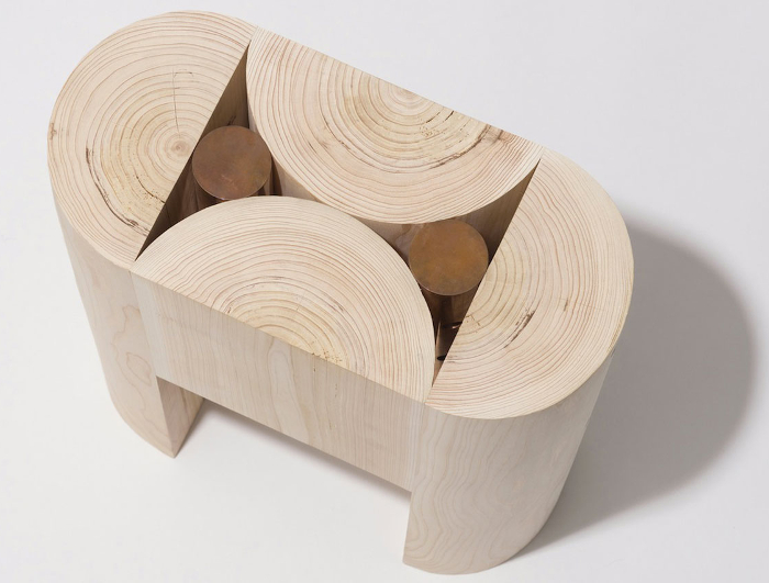 Geometry Stool par Koichi Futatsumata