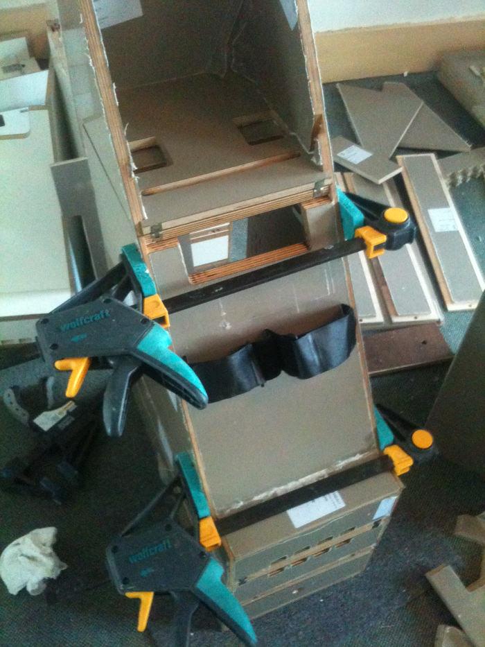Fabrication atelier - RAM le rameur discret par RAM&ROW