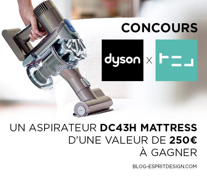 CONCOURS votre Aspirateur DYSON DC43H Mattress à GAGNER