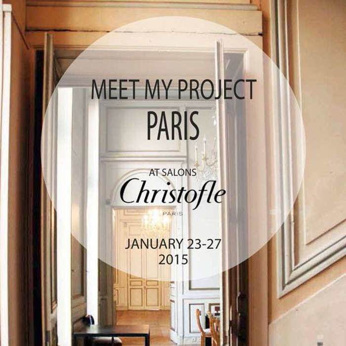 Christofle Meetmyproject exposition Paris