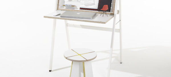 HIDEsk : The pop-up home office par le studio Michael Hilgers