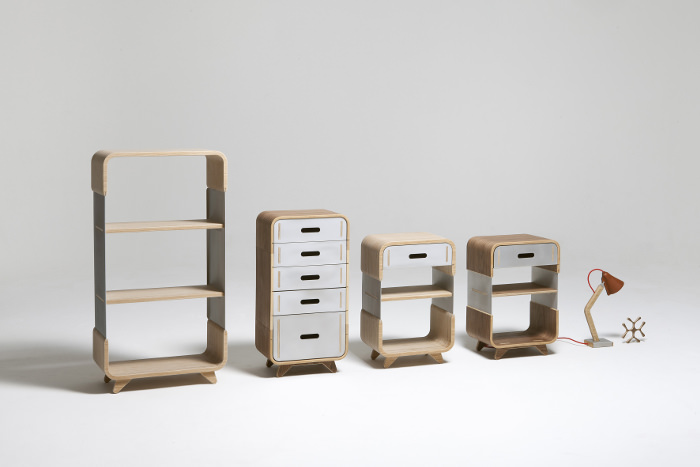 Interview : Kenny Vanden Berghe designer belge - Metal & Wood collection