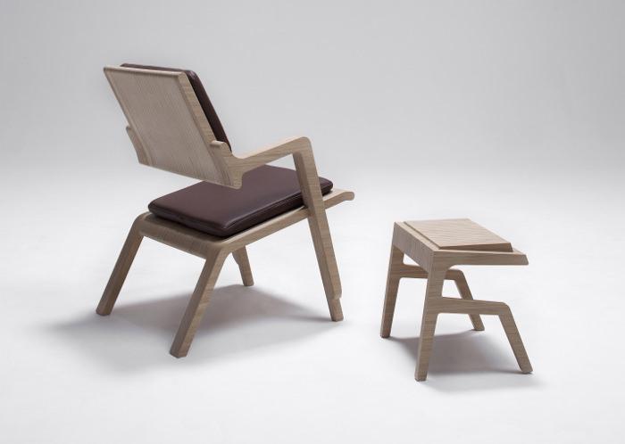mobilier table designer belge